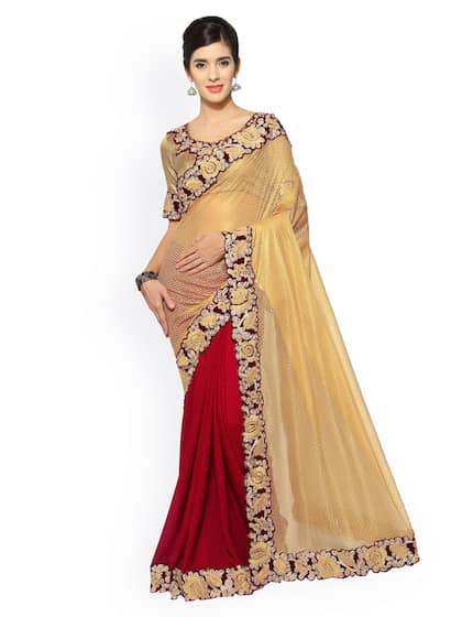 d11be3fd131b1 Half   Half Sarees - Buy Half Sarees Online in India - Myntra