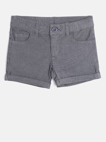 dee3109a83 Shorts For Girls- Buy Girls Shorts online in India - Myntra