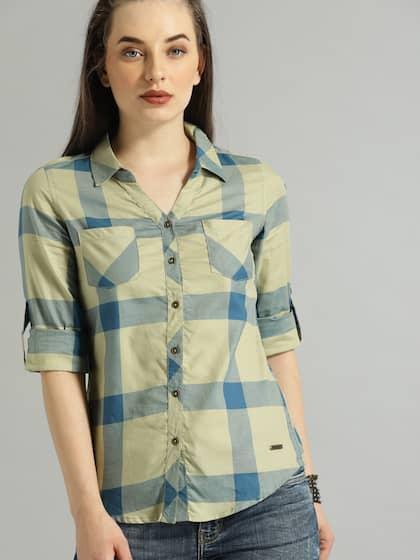 343a0990 Women Shirts - Buy Shirts for Women Online in India | Myntra