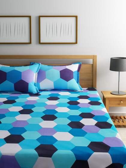 Dreamscape Printed Cotton Double Bedsheet