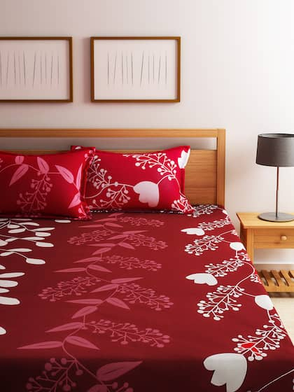 Home Printed Cotton Double Bedsheet