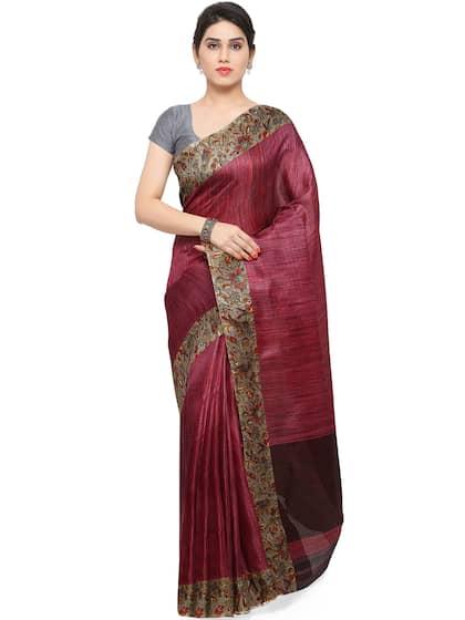 7c96191edc Tussar Sarees - Buy Pure Tussar Sarees Online in India | Myntra