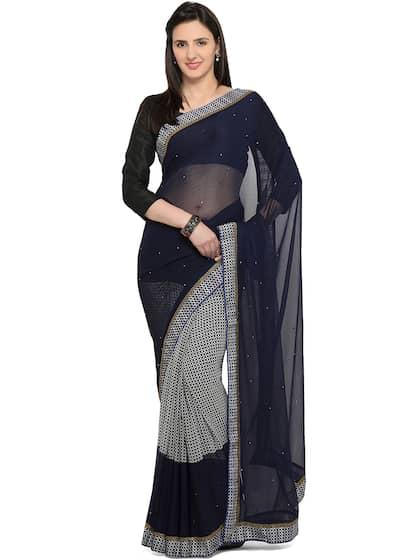 9ccac0c45b Polka Dot Saree - Buy Polka Dot Saree online in India