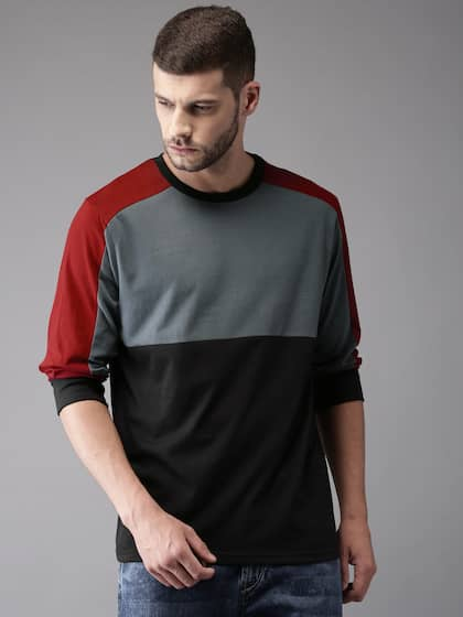 33827a617e7 Men T-shirts - Buy T-shirt for Men Online in India
