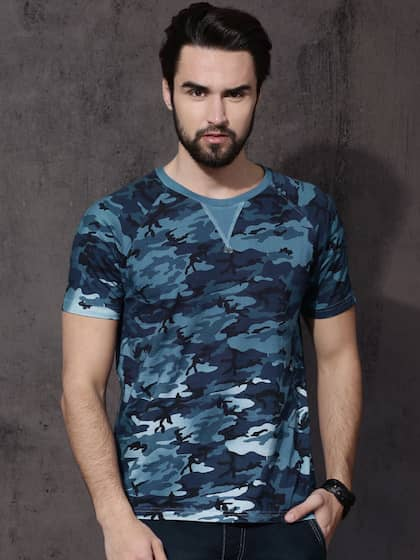 4551987b Men T-shirts - Buy T-shirt for Men Online in India | Myntra