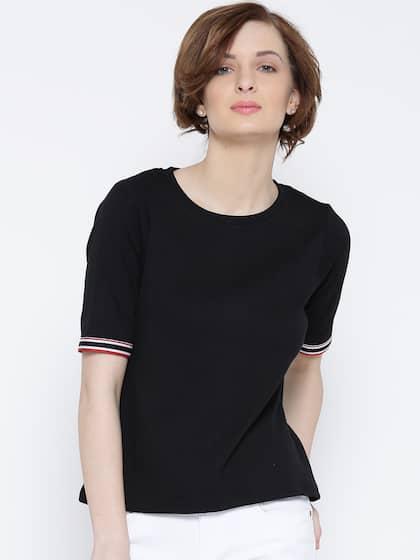 63228339e T-Shirts for Women - Buy Stylish Women's T-Shirts Online | Myntra