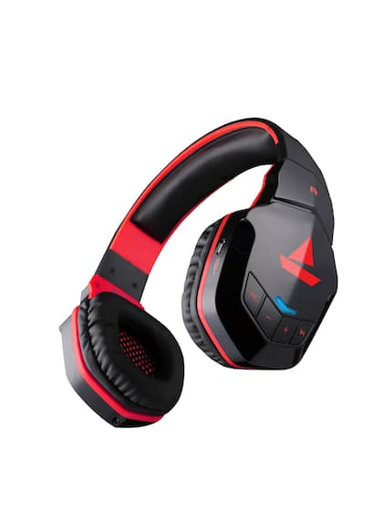 boAt Rockerz 510 Black Wireless Headphone with Thumping Bass and Up to 10H Playtime