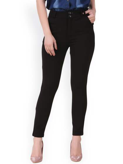 7f2194483089 Women Formal Trousers - Buy Women Formal Trousers online in India
