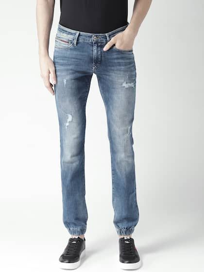 d11120c4a Tommy Hilfiger Men Blue Mildly Distressed Jeans - Buy Tommy Hilfiger ...