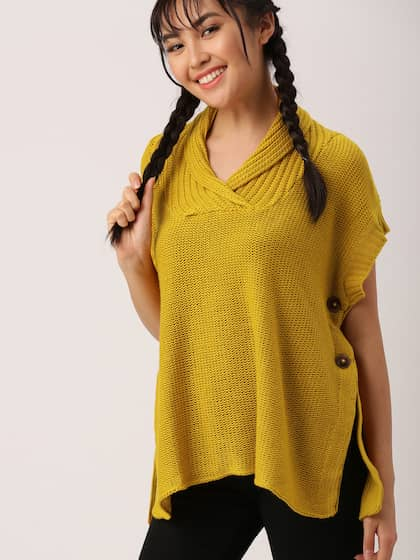 52707e84a9 Poncho - Exclusive Poncho Online Store in India at Myntra