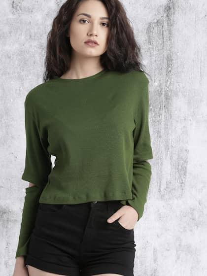 9b2b99b31f217 Ladies Tops - Buy Tops   T-shirts for Women Online
