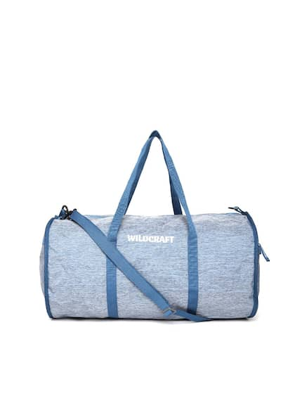 Wildcraft Unisex Blue Frisbee New Foldable Duffel Bag with Shoulder Strap cc097284fb8be