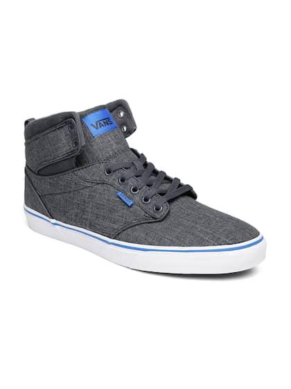 50245a80c0 Vans Men Grey ATWOOD HI Mid-Top Sneakers