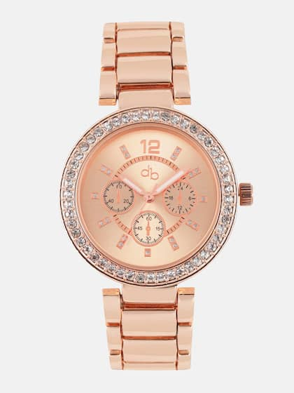 Rose Gold Watch Buy Rose Gold Watches Online Myntra
