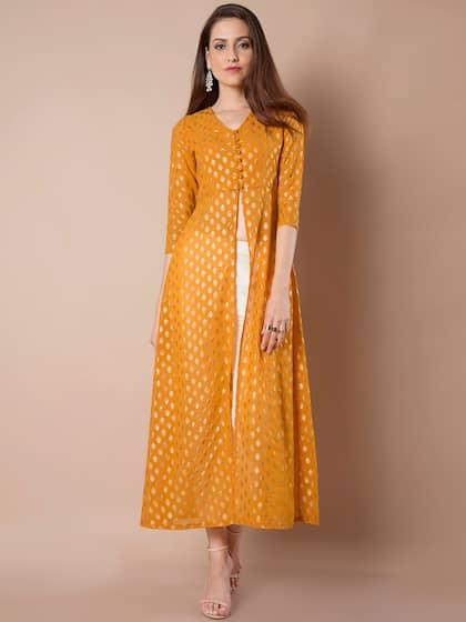 998f20cdbbd High Slit Kurta - Buy High Slit Kurtas Online in India at Myntra