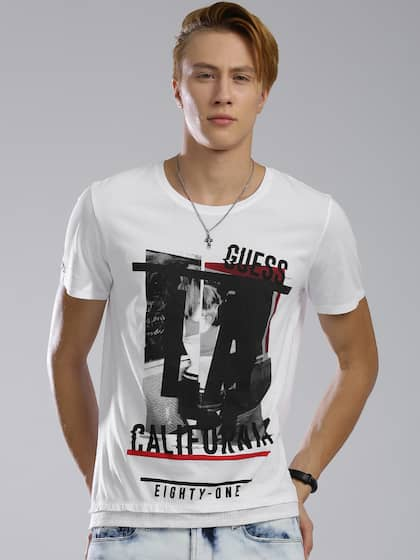 9be6733378b Guess Tshirts - Buy Guess T Shirts For Men   Women Online