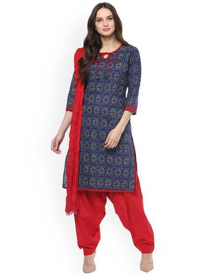 Patiala Suit Buy Patiala Suits Online At Best Price Myntra