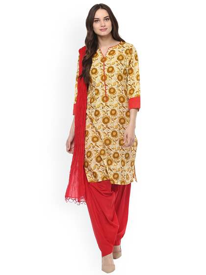 61ebdeb3e2 Punjabi Suits - Buy Punjabi Suit Online in India at Best Price | Myntra