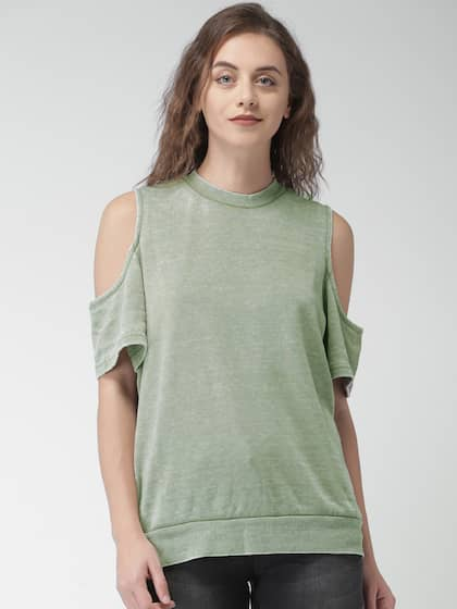 2a98875620a Cold Shoulder Tops - Buy Cold Shoulder Tops for Women Online - Myntra