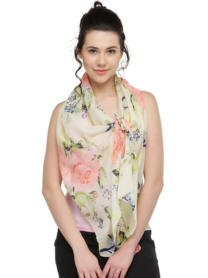 9c4c368c185a3 Scarves for Women - Buy Women Scarves & Stoles Online | Myntra
