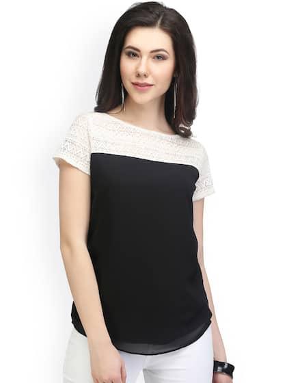 f6e1ca8e39778 Eavan Short Sleeves Tops - Buy Eavan Short Sleeves Tops online in India