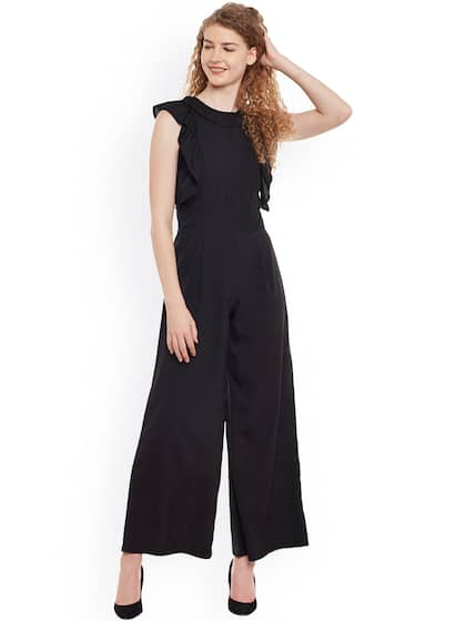 bdb58196479f Black Jumpsuit - Buy Black Jumpsuit Online in India