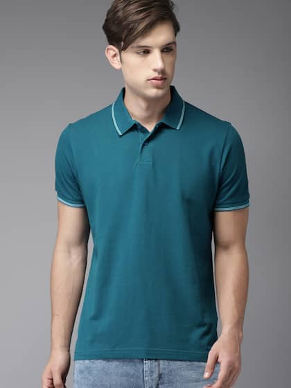 Collar T-shirts - Buy Collared T-shirts Online  b8d4830d1