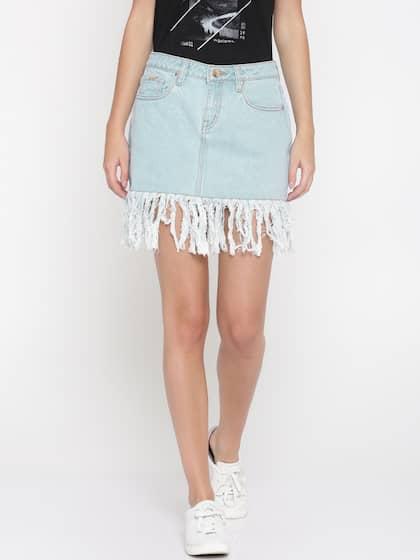 1eaa91ca75d Ms.Taken. Women Denim A-line Skirt