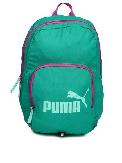 503c60a95a30 Puma Green Bags Backpacks - Buy Puma Green Bags Backpacks online in ...