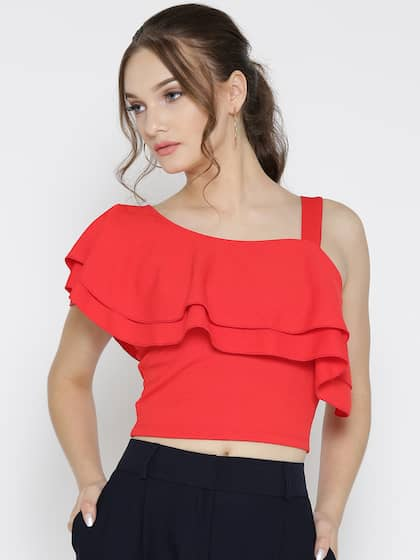 f9ba3abdd118 Red Party Tops - Buy Red Party Tops online in India