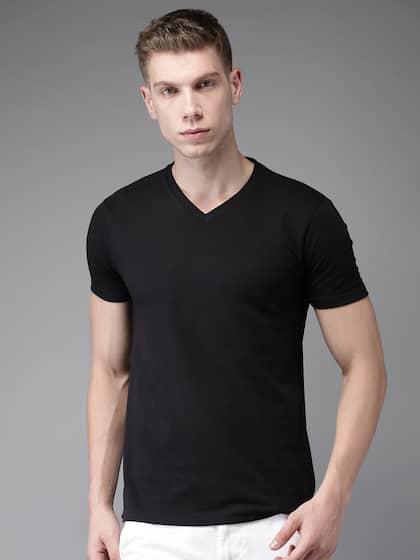 778db00ec71 V Neck T-shirt - Buy V Neck T-shirts Online in India
