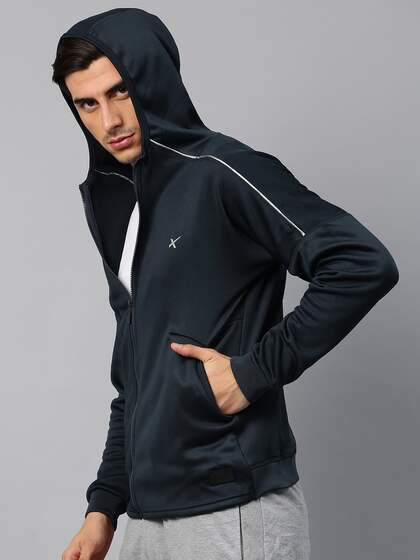 fcffc355bc25 HRX by Hrithik Roshan. Men Solid Sweatshirt