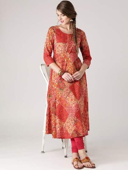 6be21b815a7d6 Floral Anarkalis - Buy Floral Anarkali Suits Online