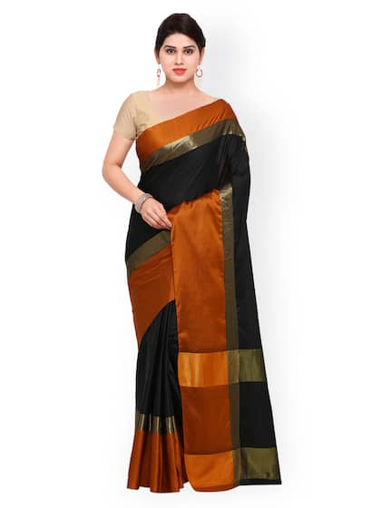 9514e89d89b4f1 Black Saree - Black Designer Sarees Online @ Best Price | Myntra