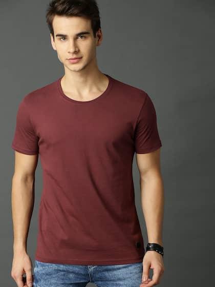 91dded00b62 Maroon Tshirts - Buy Maroon Tshirts Online in India