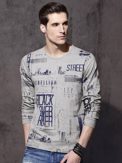 ef46b9330 Men T-Shirts - Buy T-shirts for Men Online in India | Myntra