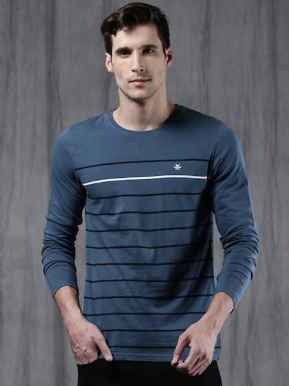 99935b01d74 Long Sleeves T-Shirts - Buy Full Sleeves T-shirt Online | Myntra