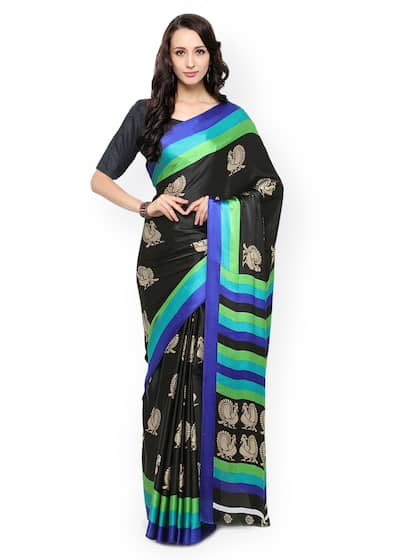 eb17ac0ee26 Black Saree - Black Designer Sarees Online   Best Price