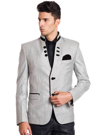 what colour blazer with grey trousers