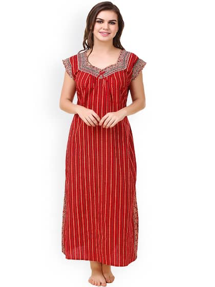 Cotton Nightdresses - Buy Cotton Nightdresses Online in India  a30c8e883