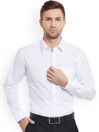 0e9ba69bd8 Formal Shirts for Men - Buy Men's Formal Shirts Online | Myntra
