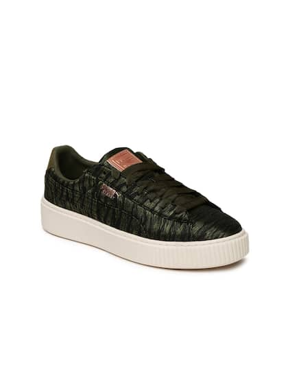 b340ddab216773 Puma Basket Shoes - Buy Puma Basket Shoes online in India