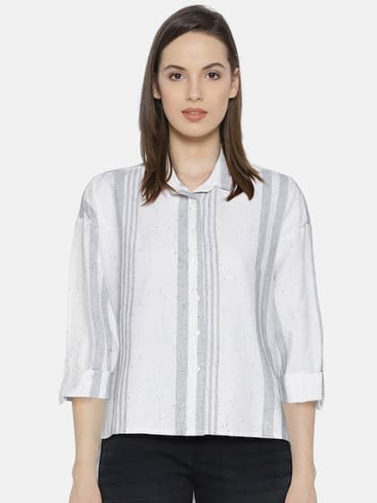 c23361890 Women Shirts - Buy Shirts for Women Online in India | Myntra