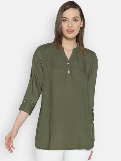 04016c41a7 Vero Moda. Solid Shirt Style Top
