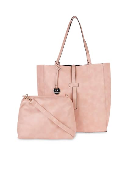 Pink Women Tote Bags - Buy Pink Women Tote Bags online in India b88b645784