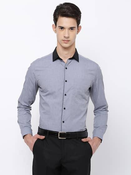 ac139dd7ce Men Black Coffee Shirts - Buy Men Black Coffee Shirts online in India