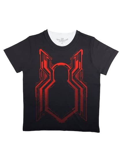 787f041e Spiderman Tshirts - Buy Spiderman Tshirts online in India