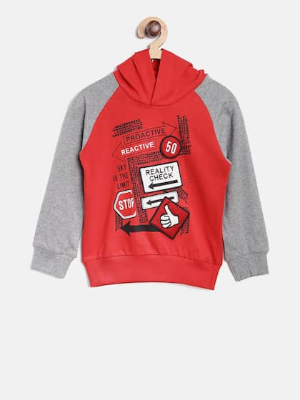 United Colors of Benetton Boys Sports Hoodie
