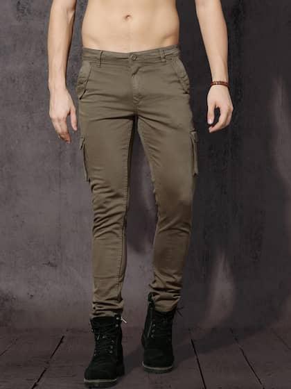 ba5ebdd1683c9 Cargo Pants For Men - Buy Latest Trendy Cargo Pants Online | Myntra