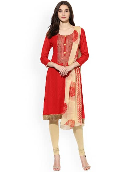 acfdda1fcf Dress Materials - Buy Ladies Dress Materials Online in India